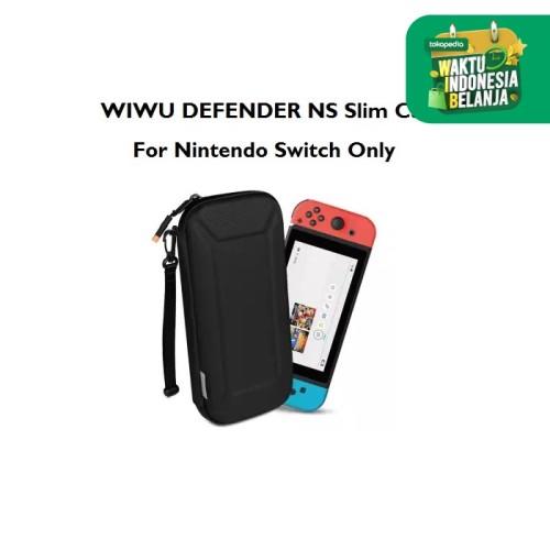 Foto Produk WIWU DEFENDER NS Slim Case - Nintendo Switch Travel Case - GM3936 - Hitam dari Tanaga Online Shop