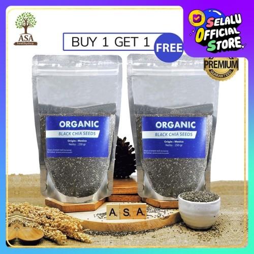Foto Produk Organic Chia Seed Mexico 250gr Buy 1 Get 1 dari ASA natural & healthy