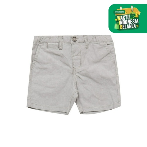 Foto Produk Gingersnaps Baby Panaman Boy Short Grey - 6 m dari Gingersnaps Official