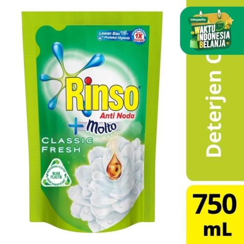 Foto Produk Rinso Deterjen Cair Anti Noda 750ml dari Unilever Official Store
