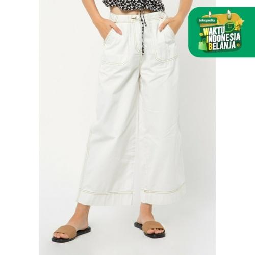 Foto Produk Colorbox Contras Cullotes Pants I:Lpwfcr221A013 Off White - OFF WHITE, XS dari Colorbox Indonesia