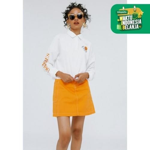 Foto Produk Colorbox Printed Sweatshirt I:Stkfjn120F020 White - White, XS dari Colorbox Indonesia