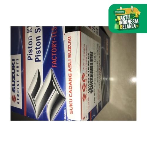 Foto Produk Piston Kit Shogun r 110 New SGP OS 50 Komplit dari Lestari Motor 2