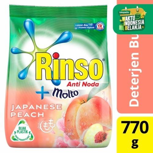 Foto Produk Rinso Molto Detergen Bubuk Japanese Peach 770G dari Unilever Official Store