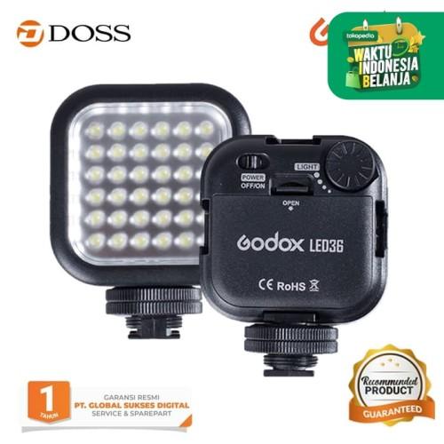 Foto Produk GODOX LED 36 VIDEO LAMP LIGHT FOR DIGITAL CAMERA dari DOSS