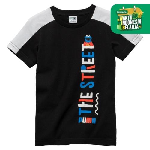 Foto Produk PUMA BOYS Apparel Kaos Anak Laki-Laki Sesame Tee B 7601 - COTTON, 152 dari Wilio Official Store