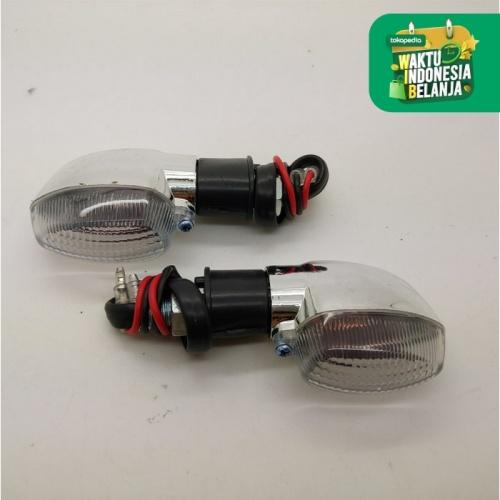 Foto Produk Lampu Sen Vixion Old Chrome Kiri Kanan 2 Pcs dari Lestari Motor 2