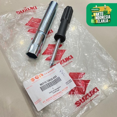 Foto Produk KUNCI BUSI TOOLKIT SATRIA FU GSX BANDIT SMASH SATRIA FU INJEKSI SGP dari Lestari Motor 2