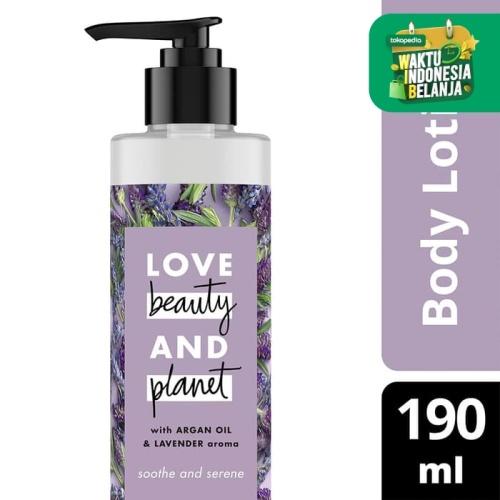 Foto Produk Love Beauty and Planet Argan Oil Lavender Body Lotion 190 ml dari Unilever Official Store