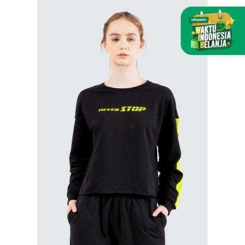 Foto Produk Colorbox Graphic Loose Sweatshirt I:Stkfth120E066 Black - Black, S dari Colorbox Indonesia