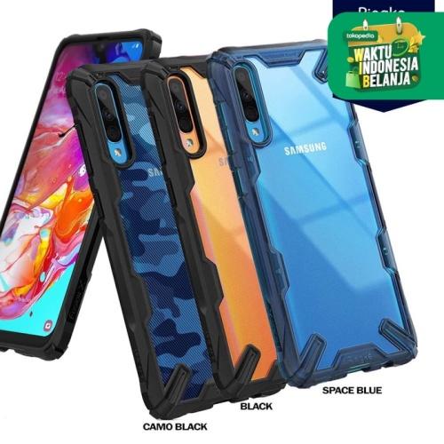 Foto Produk Case Galaxy A70s / A50s / A30s 2019 Ringke FUSION X Anti Crack - Black, A70s dari Unicase Store