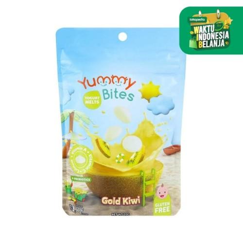 Foto Produk Yummy Bites Yogurt Melt 20gr - Gold Kiwi dari Bella Shop Jkt