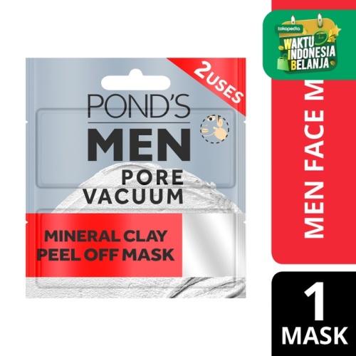Foto Produk Pond'S Men Pore Vacuum Peel Of Mask 12Ml - Masker Wajah Pria 2X Pakai dari Unilever Official Store
