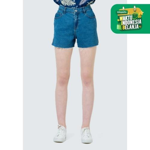 Foto Produk Colorbox Relaxed baby terry denim short pants I-Spdfjn120D030 Blue - Blue, L dari Colorbox Indonesia