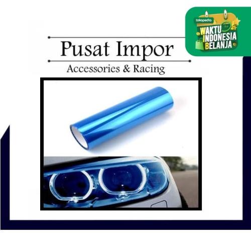 Foto Produk Stiker Sticker Headlamp Blue Hybrid Blue Lenses Hybrid dari Pusat Impor