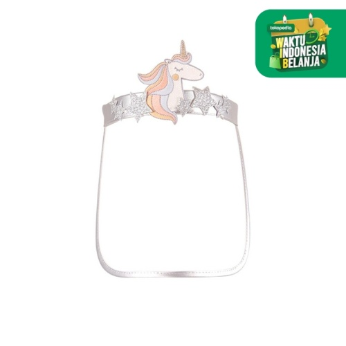 Foto Produk GINGERSNAPS QUIRKY SHIELDS FACE SHIELD SILVER - M dari Gingersnaps Official
