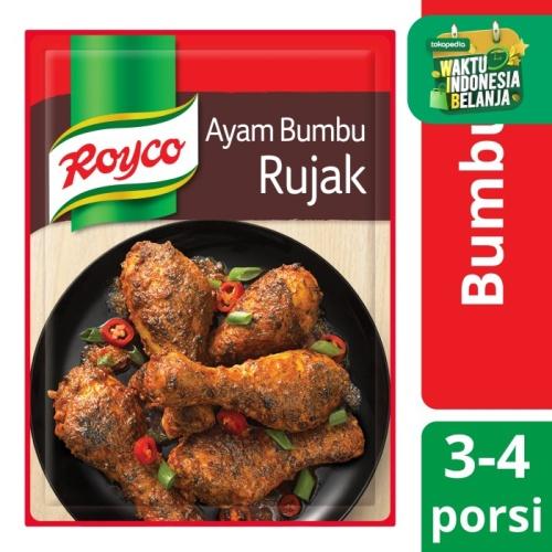 Foto Produk Royco Bumbu Siap Pakai Ayam Bumbu Rujak 22g dari Unilever Official Store