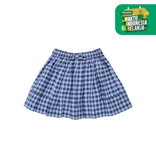 Foto Produk Mothercare blue check skirt - 3-4 years dari Mothercare ELC Official