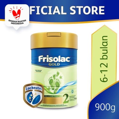 Foto Produk Frisolac Gold 2 Susu Formula Bayi 6-12 Bulan 900g dari Friso Official Store