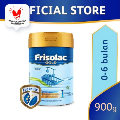 Foto Produk Frisolac Gold 1 Susu Formula Bayi 0-6 Bulan 900g dari Friso Official Store