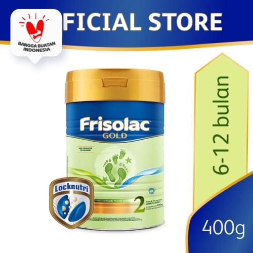 Foto Produk Frisolac Gold 2 Susu Formula Bayi 6-12 Bulan 400g dari Friso Official Store