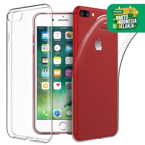 Foto Produk Slim TPU Case iPhone 7 Plus - 8 Plus - Casing Cover Soft Clear dari Logay Accessories