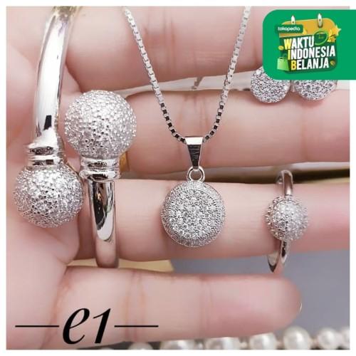 Foto Produk Titanium set perhiasan lapis emas 24k 2412a dari kevin joshe perhiasan xuping dan titanium