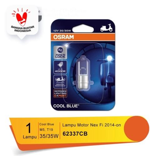 Foto Produk Osram Lampu Depan Motor Suzuki Nex Fi 2014-on - 62337CB - Cool Blue dari Osram Automotive