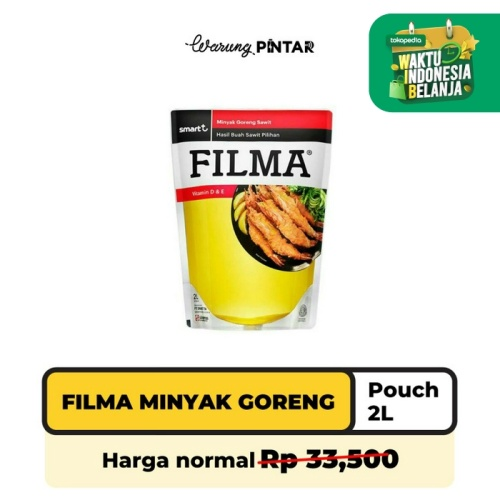 Foto Produk Filma Minyak Goreng Pouch 2L Pouch dari Warung Pintar Indonesia
