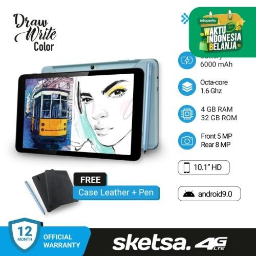 Foto Produk Advan Tab Sketsa 10 Inci 4GB 32 GB + Stylus pen + Softcase fullset dari StartGo Official Store