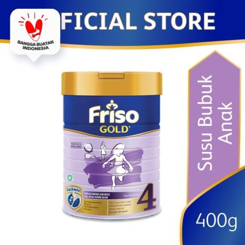 Foto Produk Friso Gold 4 Susu Formula Anak 4-12 Tahun 400g dari Friso Official Store
