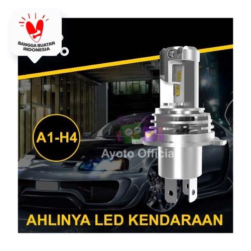 Foto Produk Lampu Mobil LED AYOTO H4 Hi/Lo 6000k, 35W+35W, 10.000 lumens, PNP dari Ayoto Official