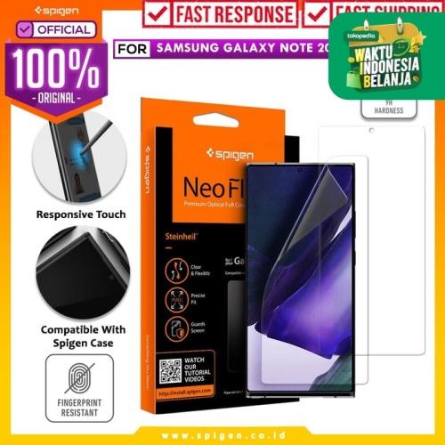 Foto Produk Screen Protector Samsung Galaxy Note 20 / Ultra Spigen Neo Flex HD - Note 20 dari Spigen Official