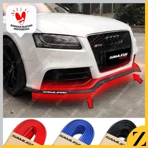Foto Produk Karet Lips Lis Bumper Bemper Mobil Universal SAMURAI Car Skirt Protect - Merah dari Zen Car Parts