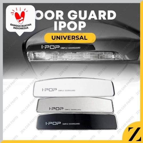Foto Produk door guard ipop / pelindung pintu samping mobil universal - Abu-abu dari Zen Car Parts