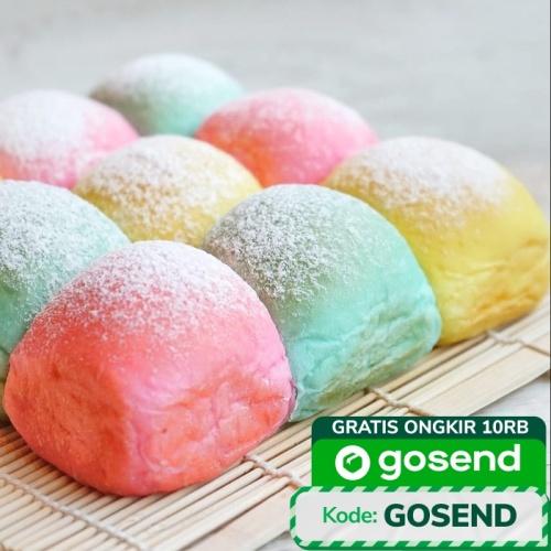 Foto Produk Roti Sobek Japanese Milk Unicorn Rainbow dari Delicio Cake & Bakery