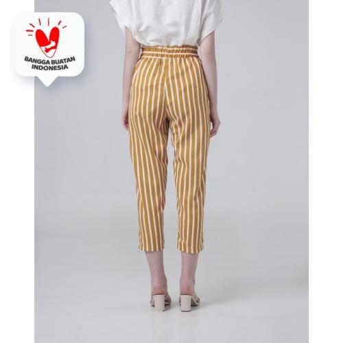 Foto Produk This Is April - Elma Striped Pants Yellow 620411 dari This Is April