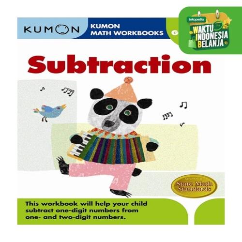Foto Produk Buku Anak - Kumon - Grade 1 Subtraction dari Kumon Publishing INA