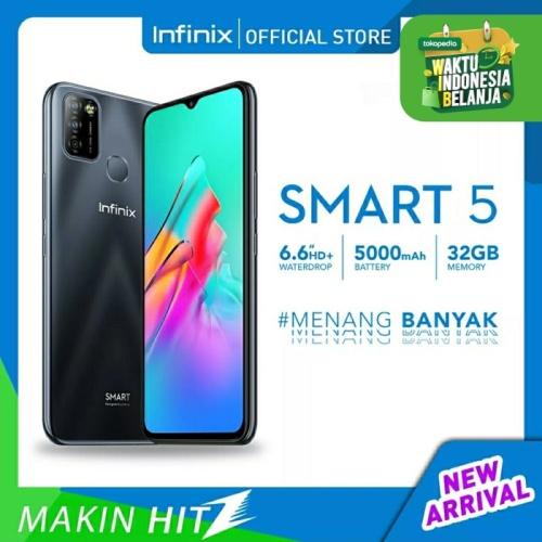 Foto Produk Infinix Smart 5 2/32 Ram 2GB Internal 32GB Garansi Resmi dari dk-cell