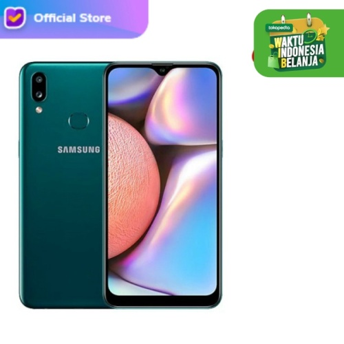 Foto Produk Samsung galaxy a10s 2/32 RAM 2GB ROM 32GB - Garansi Resmi - Hijau dari H2 Cellular
