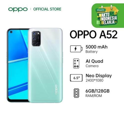 Foto Produk OPPO A52 Smartphone Special Online Edition 6GB/128GB (Garansi Resmi) - Putih dari OPPO OFFICIAL STORE