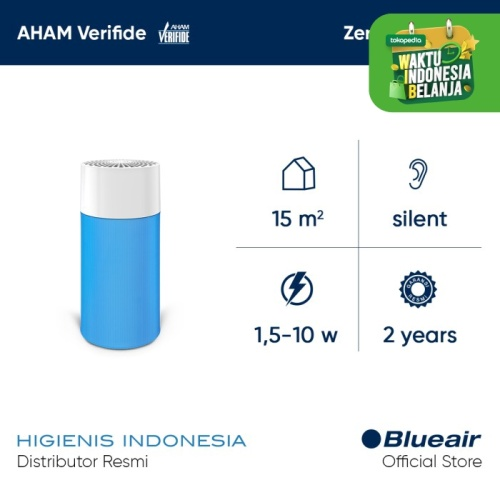Foto Produk Blueair Air Purifier Blue Pure 411 Particle & Carbon Filter Diva Blue dari Higienis Indonesia