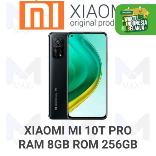 Foto Produk Xiaomi Mi 10t Pro 5G 8/256 Ram 8GB Rom 256GB Garansi Resmi - COSMIC BLACK dari Maxi phone cell
