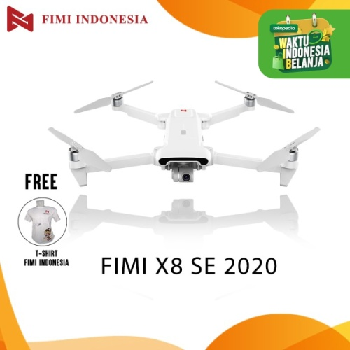 Foto Produk FIMI X8SE 2020 Camera Drone RC Helicopter 8KM FPV 3-axis Gimbal GPS dari FIMI OFFICIAL STORE