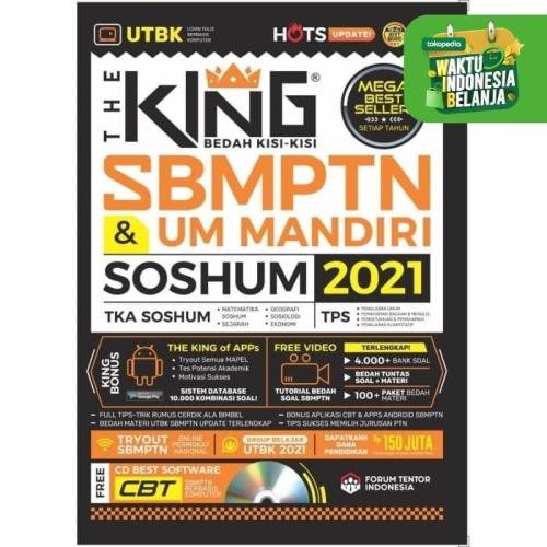 Foto Produk The King : Bedah Kisi-Kisi SBMPTN Dan UM Mandiri SOSHUM 2021 dari Republik Fiksi