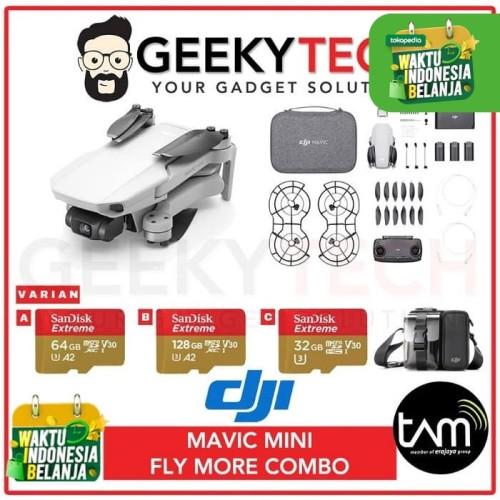 Foto Produk DJI Mavic Mini Combo - Garansi Resmi TAM - Sandisk 32 GB dari GeekyTech
