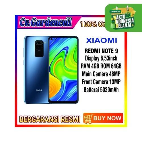 Foto Produk XIAOMI REDMI NOTE 9 RAM 4/64GB GARANSI RESMI - Forest Green dari Garden Cell Official