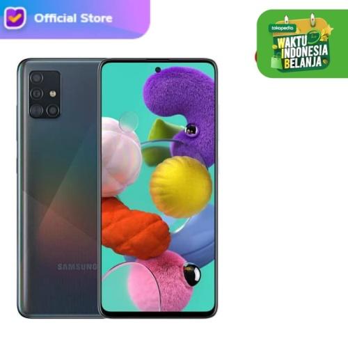 Foto Produk Samsung Galaxy A51 6/128 - RAM 6GB / ROM 128GB - Garansi Resmi - Hitam dari H2 Cellular