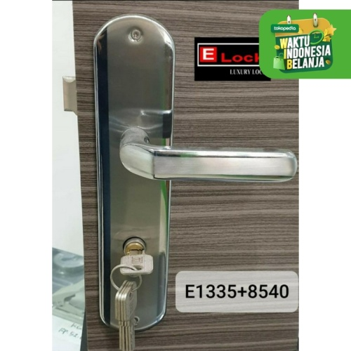 Foto Produk kunci pintu kamar mandi Elock level handle E1222 dari EuropeEnchanting