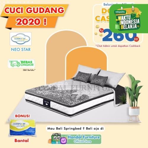 Foto Produk Comforta Hanya Kasur Spring Bed Neo Star 160 x 200 dari Handal Furniture